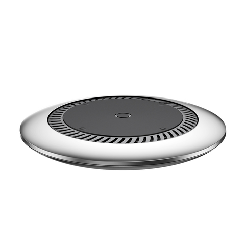 Сетевая зарядка Baseus Whirlwind Desktop Wireless Charger Silver