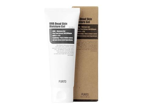 Purito BHA Dead Skin Moisture Gel обновляющий увлажняющий гель с BHA-кислотами для жирной и проблемной кожи