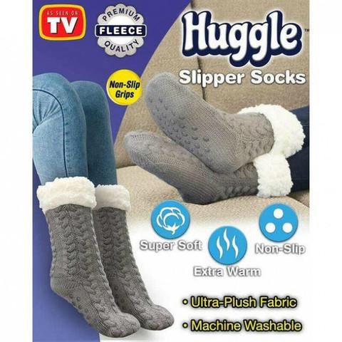Плюшевые Носки Huggle Slipper Socks