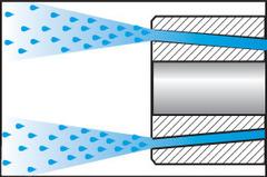 Оправка для насадной фрезы Форма ADB с каналом для подвода СОЖ SK 40 A = 100
