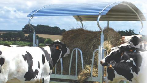 Кормушка для сена для коров