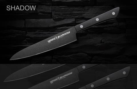 Кухонный универсальный нож Samura Shadow, арт. SH-0023/16