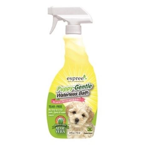 Средство для очищения шерсти для щенков, 710 мл  Pappy Waterless Bath 24oz