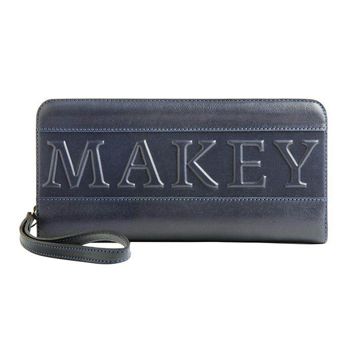 Портмоне «Makey forever!». Цвет синий