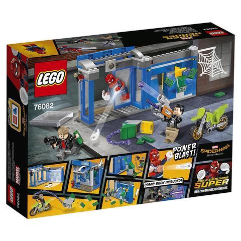 LEGO Super Heroes: Ограбление банкомата 76082 — ATM Heist Battle — Лего Супергерои Марвел