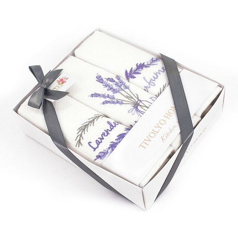Набор салфеток  PERFUME  3пр по 40х60 TIVOLYO HOME Турция