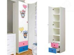 Шкаф 1-но дверный Совята