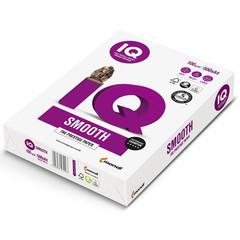 Бумага для офисной техники IQ Smooth (А4, марка A+, 100 г/кв.м, 500 листов)