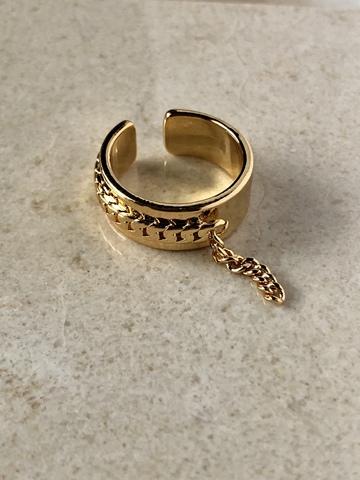 Кольцо Иккинг, позолота