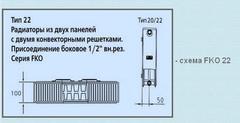 Радиатор Kermi FKO 22 500х1300