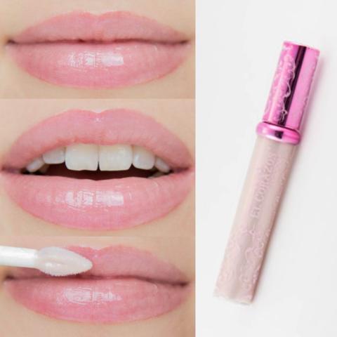El Corazon Блеск для губ Shine  SH 32 эф.объёма белый с розовым шиммером