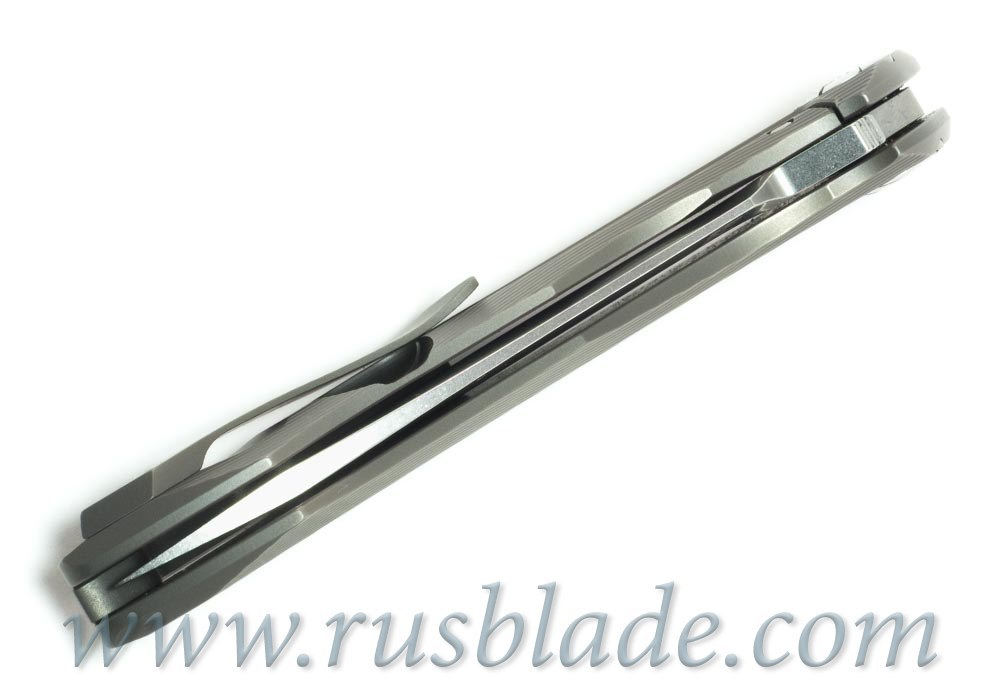 CKF Rabbit Knife (Alexey Konygin design, s35vn, titanium, bearings) - фотография
