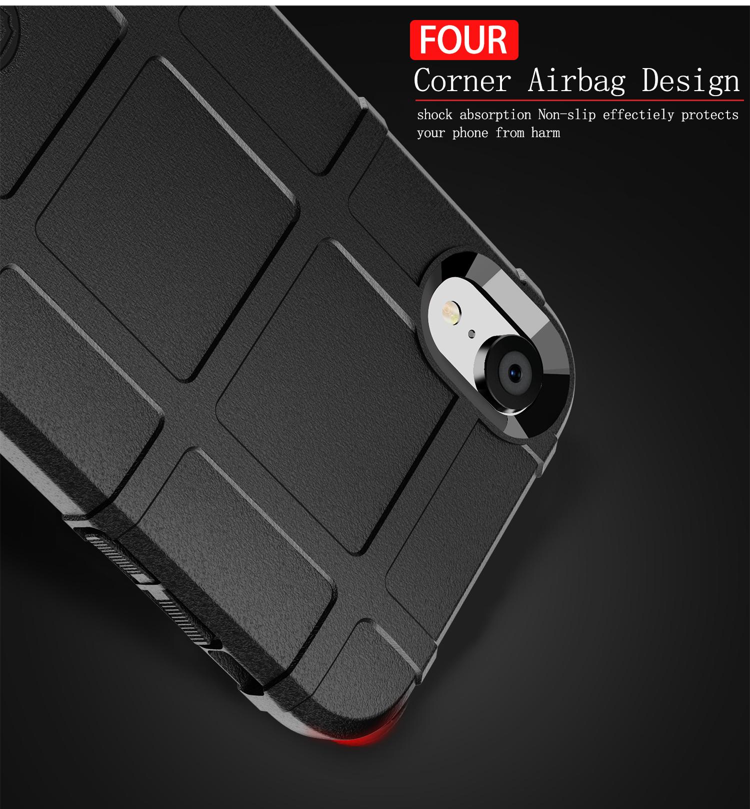 Чехол iPhone XR цвет Black (черный), серия Armor, Caseport