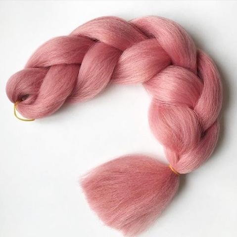 Канекалон A07 (пыльно-розовый)
