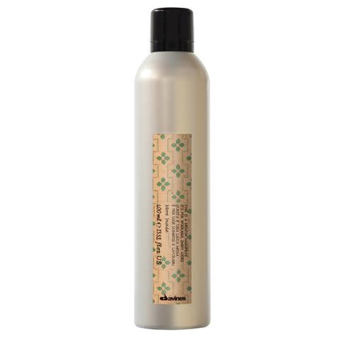 Davines More Inside: Лак средней фиксации для эластичного глянцевого стайлинга (Medium Hold Hair-spray)