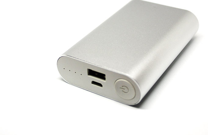 power bank оптом 6600 mah mini metalic