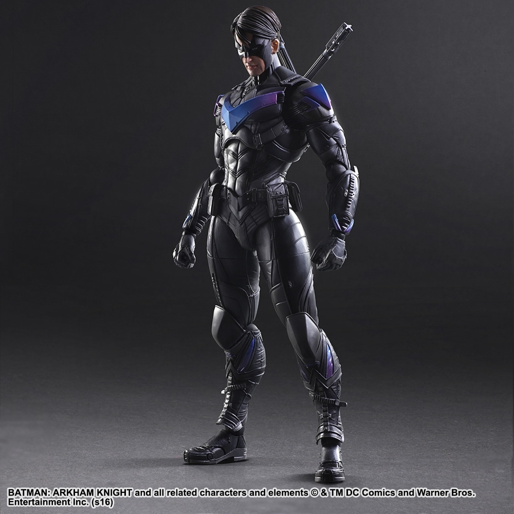 Бэтмен Рыцарь Аркхема фигурка Найтвинг (копия) — Batman Arkham Knight Nightwing Play Arts Kai (copy)