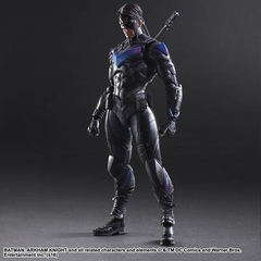 Бэтмен Рыцарь Аркхема фигурка Найтвинг (копия) — Batman Arkham Knight Nightwing Play Arts Kai (copy)