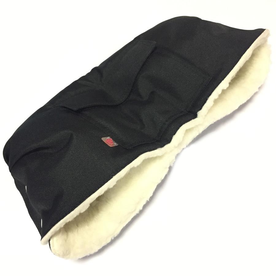 Зимние товары Муфта для коляски Farla Basko черная с овчиной Basko_black.jpg