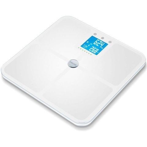 Весы напольные электронные Beurer (B-BF950W) макс.180кг белый