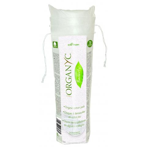 Ватные диски для снятия макияжа из органического хлопка | Organyc