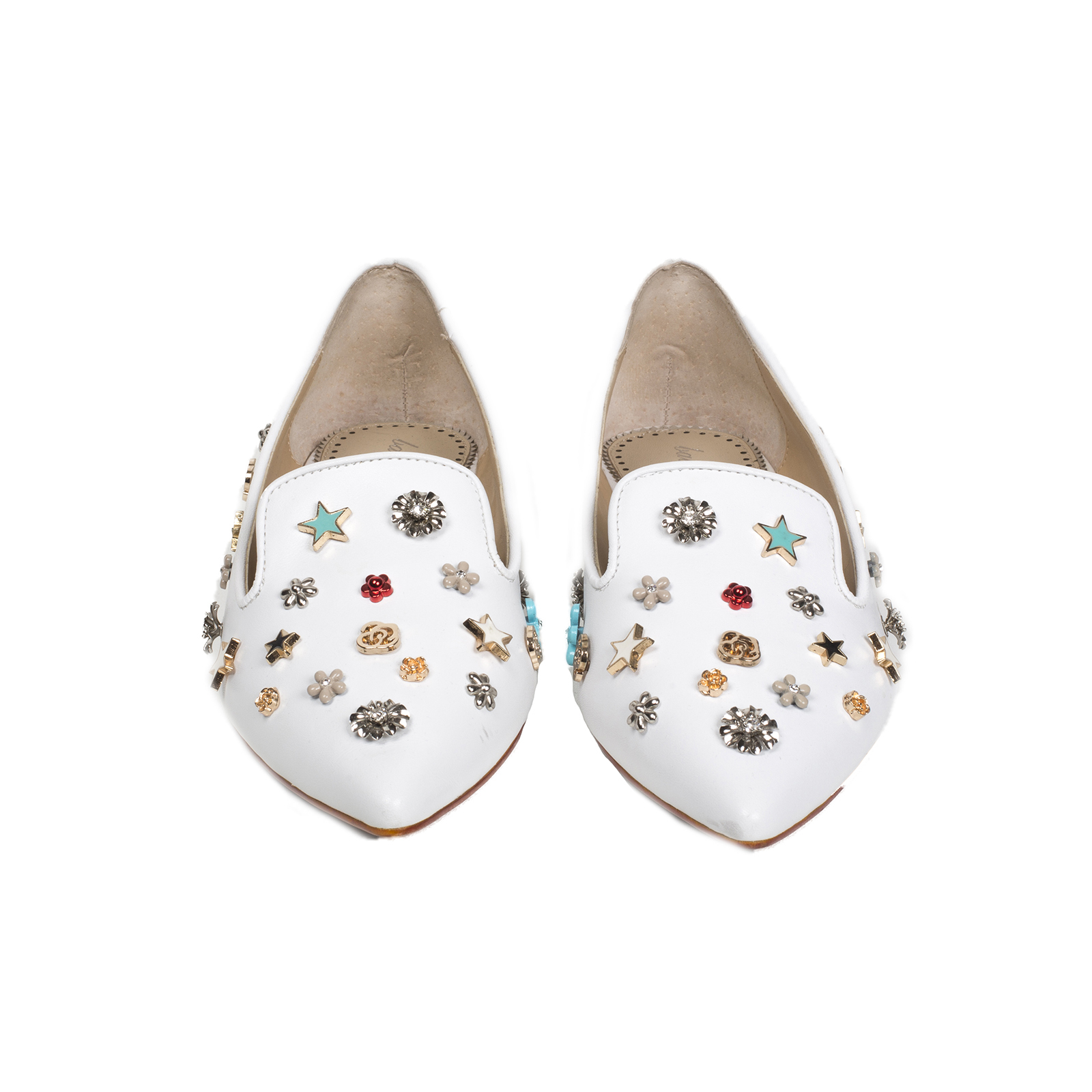 Туфли, Ballerina, Emma (белый)