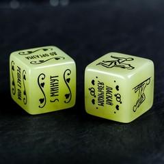 Кубик неоновый «Сделай это», 2 кубика