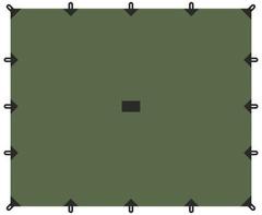 Тент Talberg 6х6м зелёный