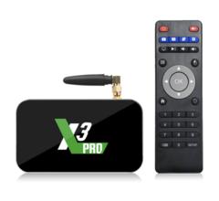 Смарт ТВ приставка Ugoos X3 PRO media TV box 4/32 Гб Android 9.0