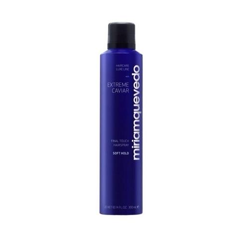 MIRIAM QUEVEDO   Лак для волос легкой фиксации с экстрактом черной икры /Extreme Caviar Final Touch Hairspray – Soft Hold, (300 мл)