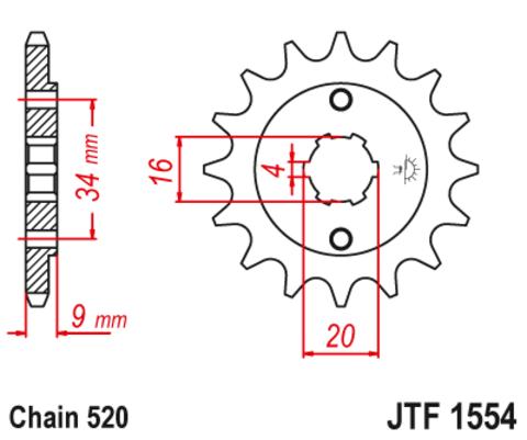 JTF1554