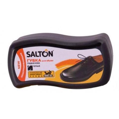 Губка д/обуви Salton Волна д/гладкой кожи,Черный