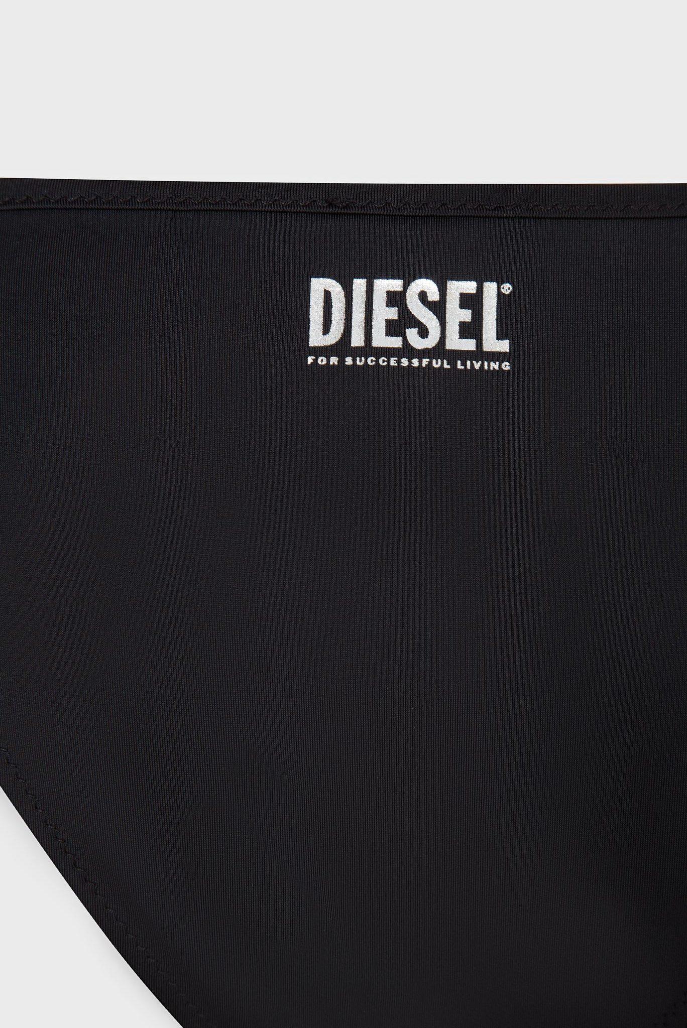 Женские черные трусики от купальника BFPN-NICY Diesel