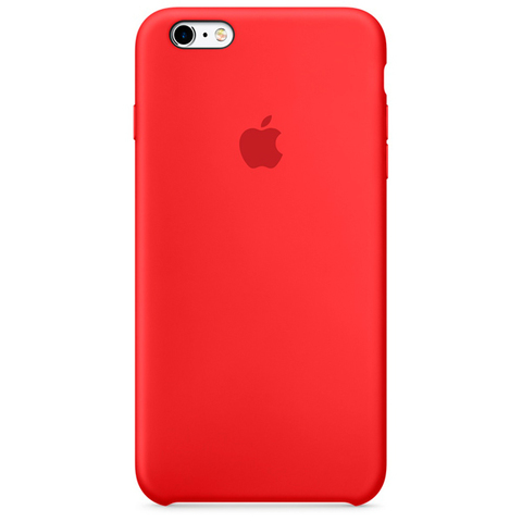 iPhone 6/6s Silicone Case Red