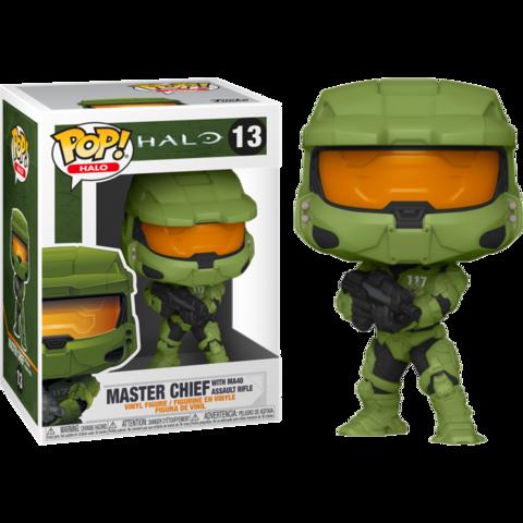 Фигурка Funko Pop! Games: Halo - Master Chief with MA40 Assault Rifle