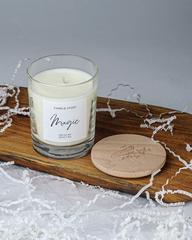 Ароматическая свеча Magic c деревянной крышкой 200 мл, Россия