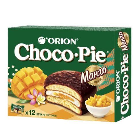 Бисквит ORION Choco-Pie Манго 360 г РОССИЯ