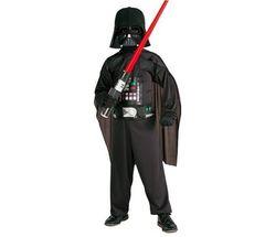 Детский костюм Дарта Вейдера со световым мечом (+перчатки)