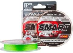 Шнур Favorite Smart PE 4x 150м (салат.) #2.5/0.256мм 13кг