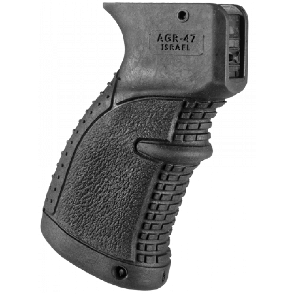Пистолетная рукоятка пластиковая прорезиненная AGR-47 для AK, Сайга, Вепрь FAB Defense