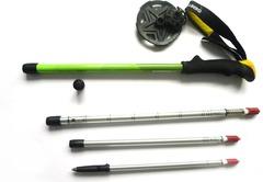 Палки треккинговые Talberg Compact Pole зеленые - 2