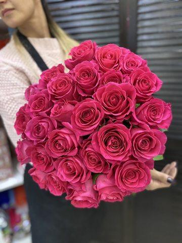 Букет из 29 эквадорских роз 70 см #00341