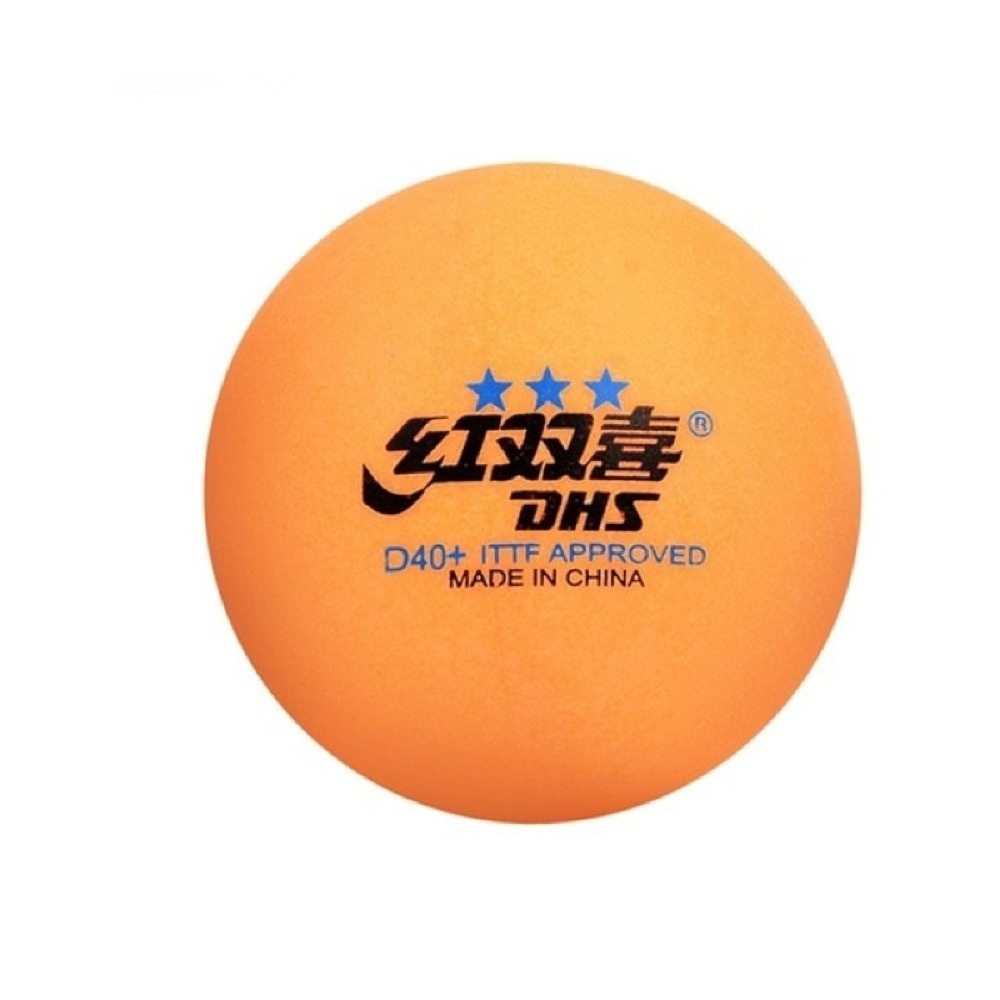Мячи DHS 3* D40+