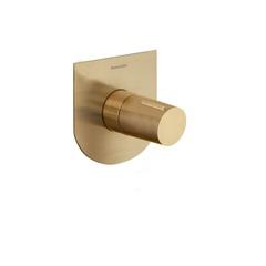 Встраиваемый смеситель для душа TZAR 341801SOC золотой, на 1 выход