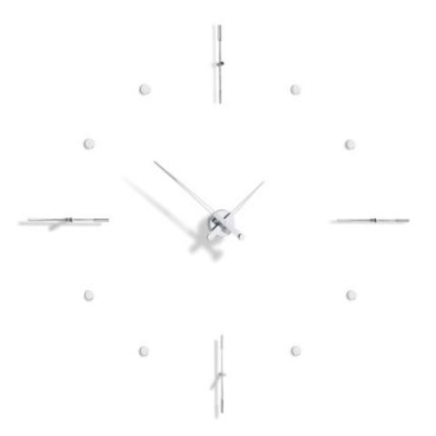 Настенные часы Mixto i хром