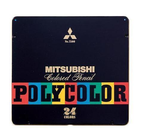 Цветные карандаши Mitsubishi Pencil Polycolor
