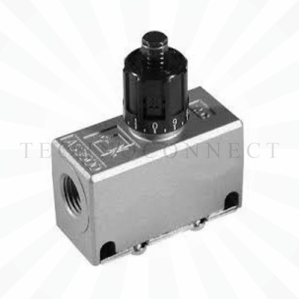 EAS4000-F02  Дроссель с обратным клапаном, G1/4
