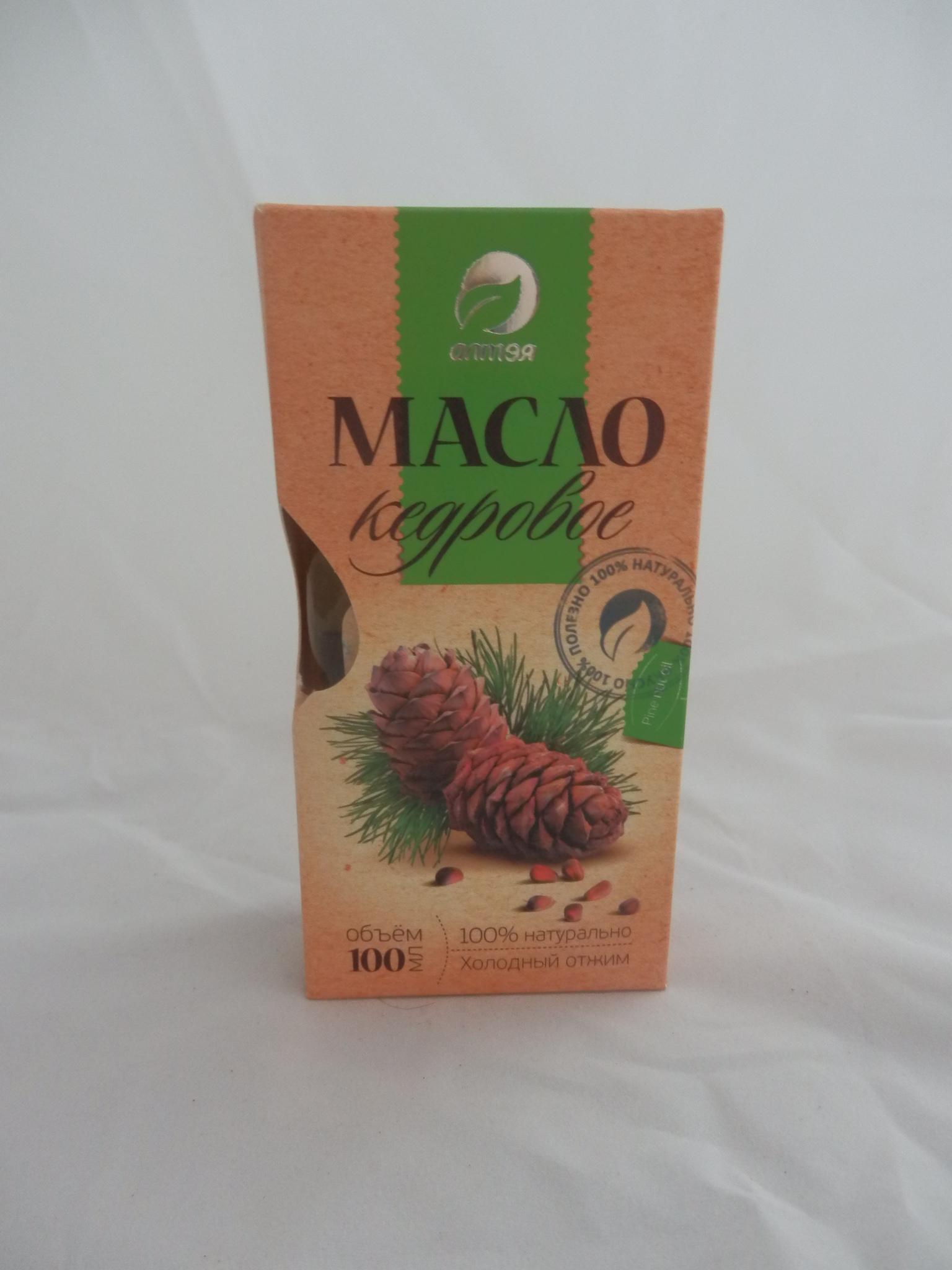 Натуральное масло кедрового ореха