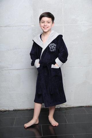 Athletic Junior халат для мальчика подростково-детский  Five Wien (Турция)
