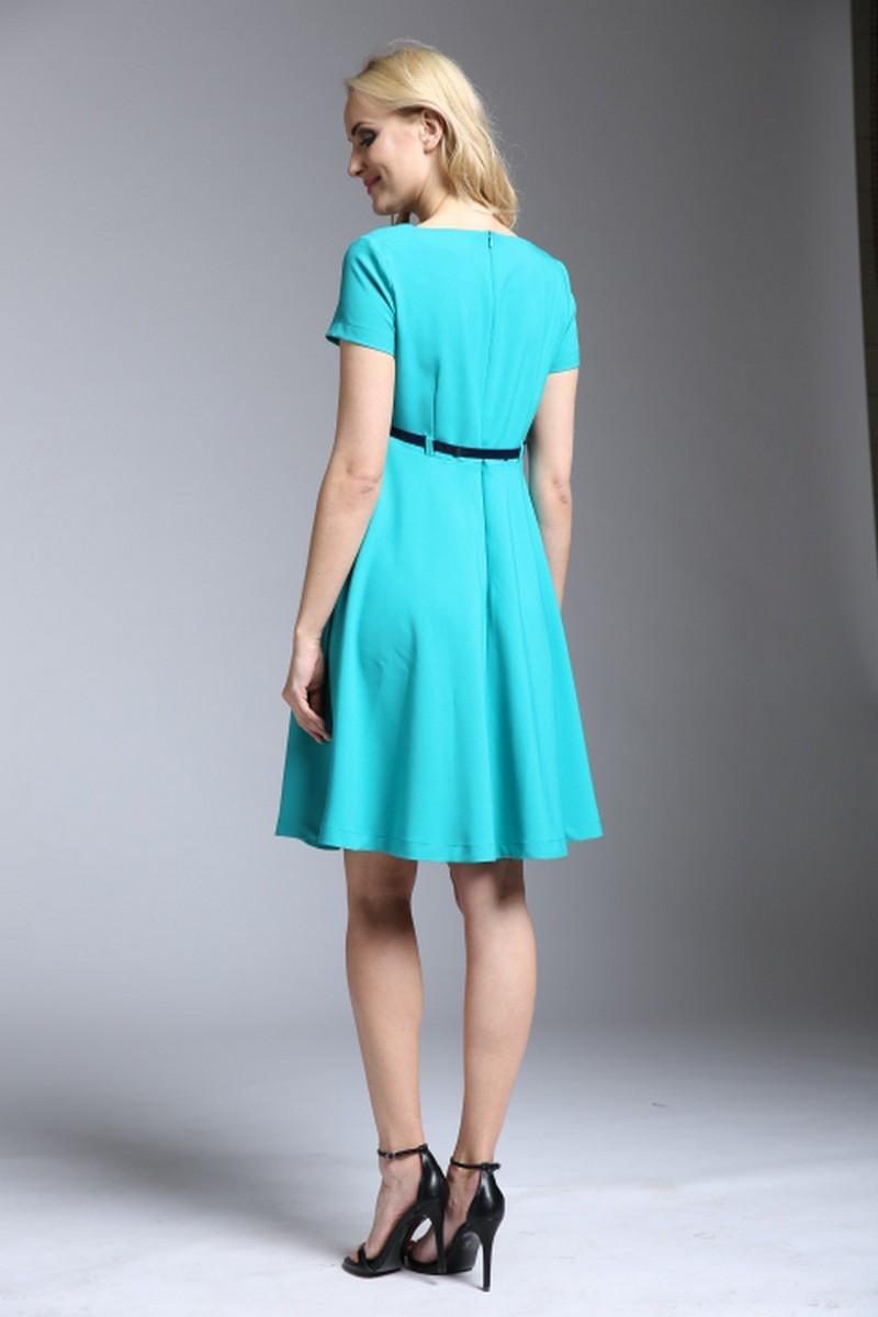 Фото платье для беременных и кормящих Mama i Ja от магазина СкороМама, зеленый, размеры.